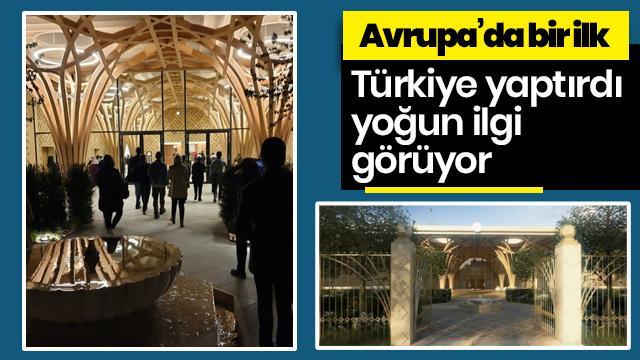 Türkiye finanse etti: Avrupa'nın ilk çevre dostu camisi İngiltere'de açıldı