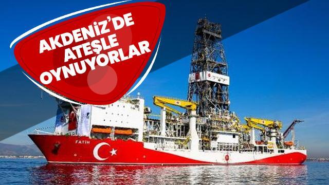 'Rumlar Akdeniz'de ateşle oynuyor'