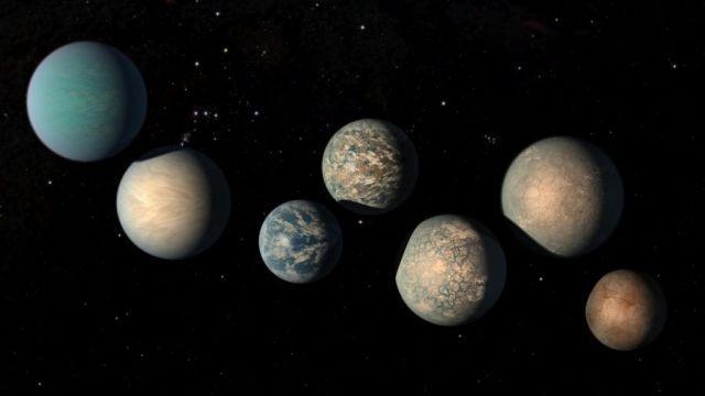 Dünya büyüklüğünde 18 ötegezegen keşfedildi