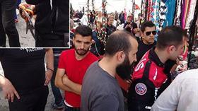 Kadıköy'de pazarcıların makaslı kavgasından 4 kişi yaralandı