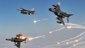 Son dakika... Irak'ın kuzeyine düzenlenen hava harekatında terör hedefleri vuruldu