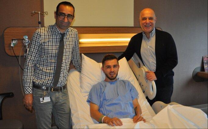 Sivasspor'un yıldızı Emre Kılınç ameliyat edildi