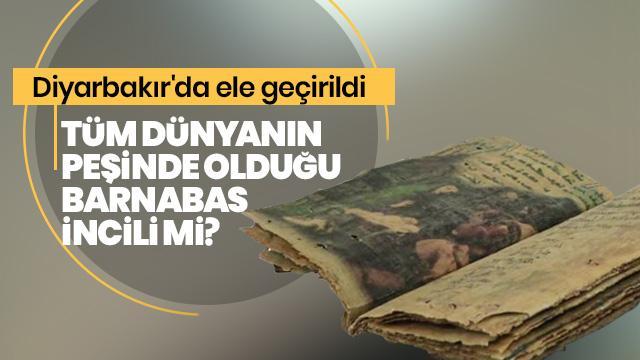 Diyarbakır'da ele geçirildi... Tam 1400 yıllık!
