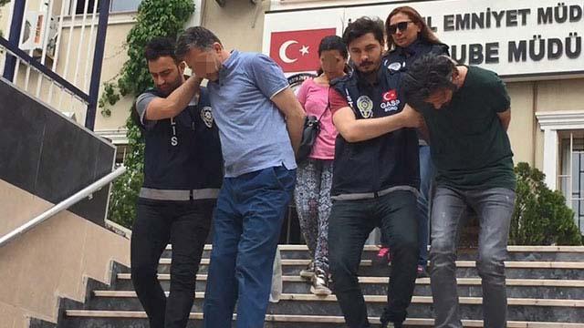 Fatih'te kuyumcu kuryelerini gasp eden şüpheliler yakalandı