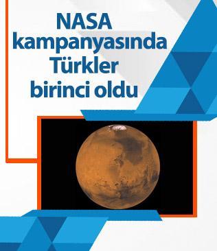 NASA'nın Mars'a isim gönderme kampanyasına Türkiye'den yoğun ilgi