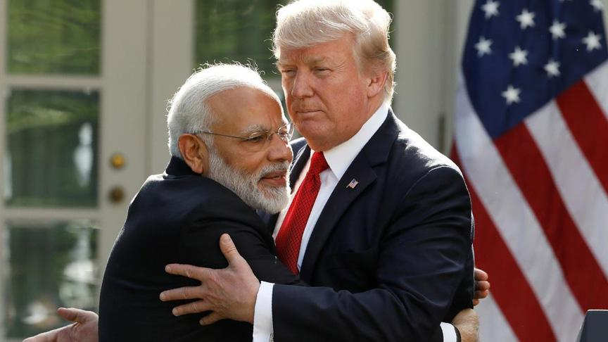 Trump'tan Hindistan'da seçimi kazanan Modi'ye tebrik
