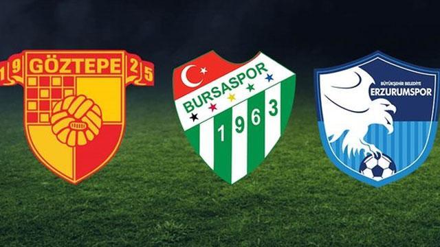 Göztepe kaybederse veya berabere kalırsa ortalık yanacak! İşte Göztepe, Bursaspor ve Erzurumspor'un kümede kalma savaşı