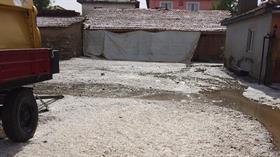 15 dakikalık dolu yağışı Amasya'yı felç etti
