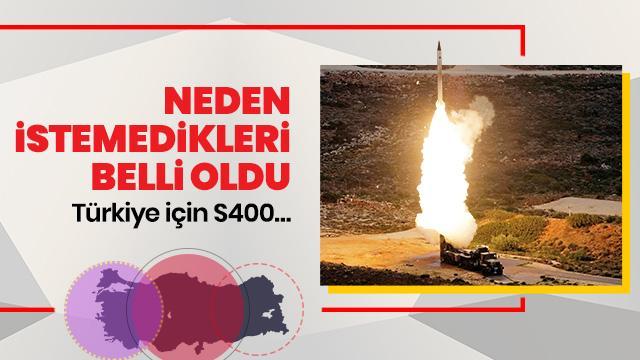 S-400'lerle kontrol Türkiye'de