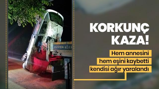 Antalya'da trafik kazası: 2 ölü