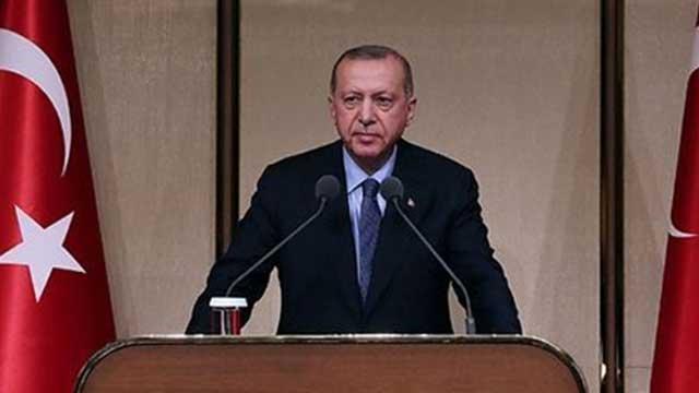 Başkan Erdoğan: Sanatçı sanatıyla sporcu sporuyla konuşur