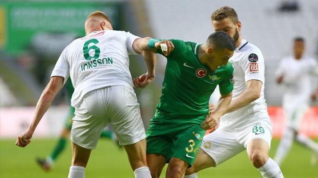 Konyaspor ile Akhisarspor yenişemedi