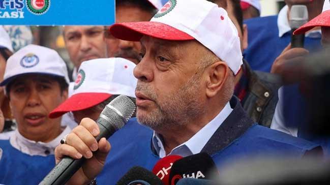 Hak-İş Genel Başkanı Mahmut Arslan Bolu Belediyesindeki işten çıkarmalara tepki gösterdi: CHP Genel Merkezine yürüyeceğiz