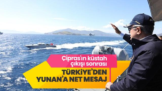 Bakan Akar'dan Yunanistan ile görüşmelere ilişkin açıklama