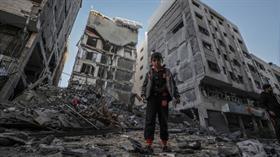 İşgalci İsrail'in son Gazze saldırısında hasar bilançosu 9,5 milyon dolar