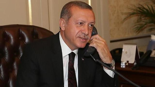 Başkan Erdoğan, KKTC Başbakanı Tatar'ı tebrik etti