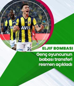 Fenerbahçe'nin genç yıldızı Eljif Elmas'ın babasından transfer sözleri: Fenerbahçe ile görüşeceğiz