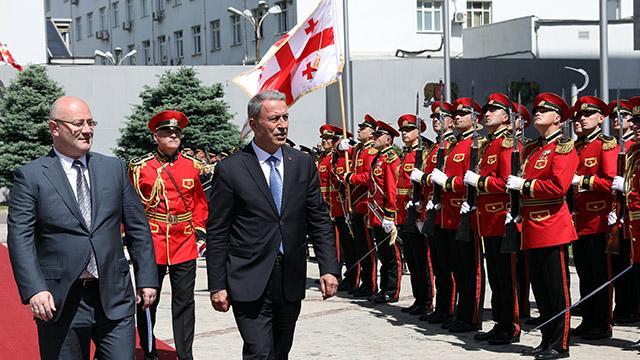 Milli Savunma Bakanı Hulusi Akar, Gürcistan'da