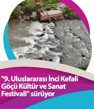 """""""9. Uluslararası İnci Kefali Göçü Kültür ve Sanat Festivali"""" sürüyor"""