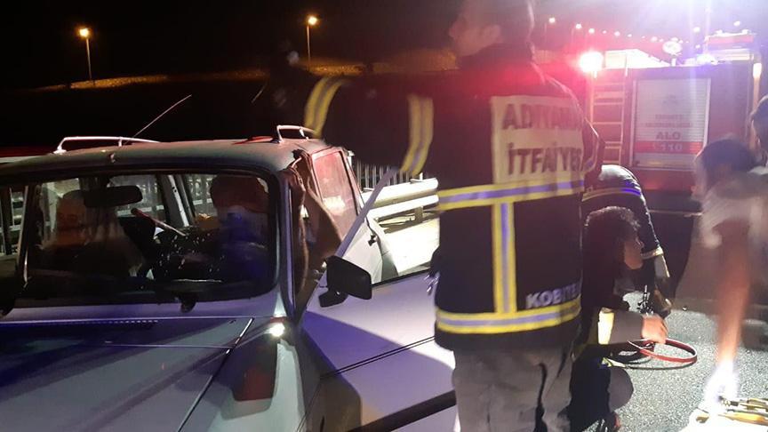 Feci kaza! İki otomobil çarpıştı: 11 Yaralı