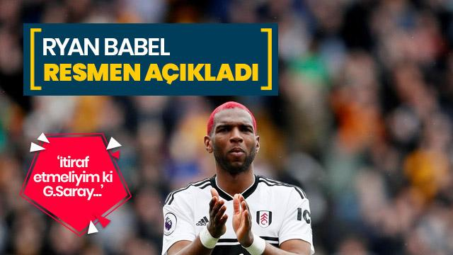 Ryan Babel'den Galatasaray itirafı: En iyi teklifi onlar verdi
