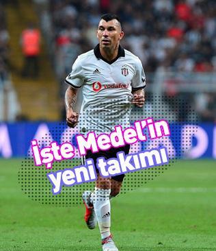 Beşiktaş'ta Şilili yıldız Gary Medel ile yollar ayrılıyor