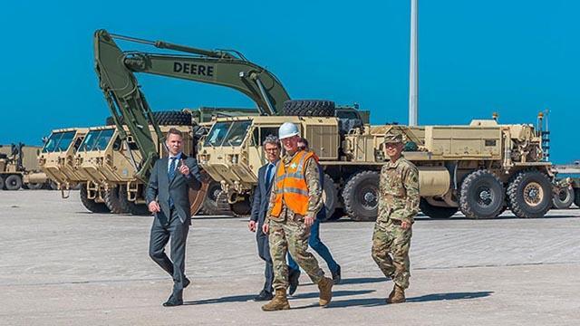 ABD Yunanistan'ın Dedeağaç limanına askeri sevkiyat yaptı