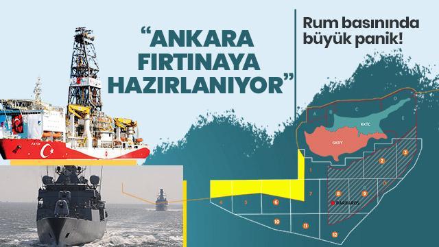Rum basınında büyük panik: Ankara fırtına'ya hazırlanıyor