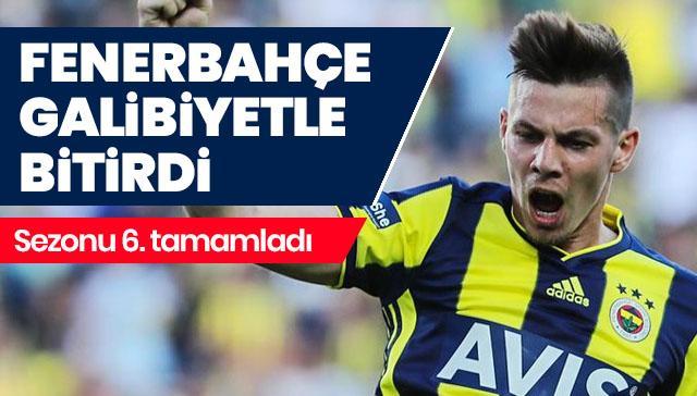 Fenerbahçe ligi 6. bitirdi