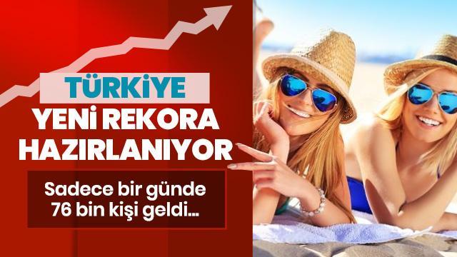 Antalya turizmde bir rekor daha kırdı
