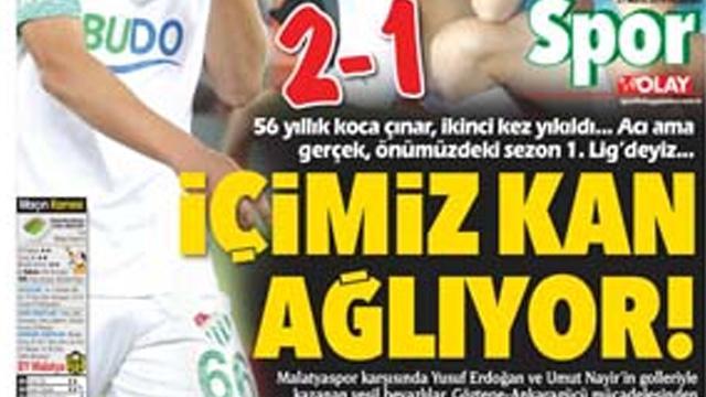 Bursa basını yasta! 'İçimiz Kan Ağlıyor'