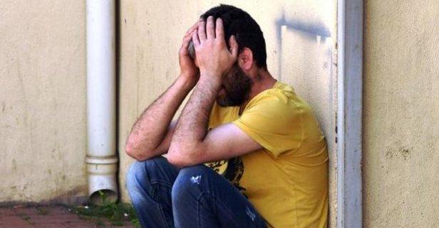 Oğlunun cenazesini teslim alan baba gözyaşlarına boğuldu