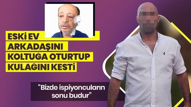 ae8f484d8b4 Antalya'da kendisini polise ihbar ettiği iddiasıyla eski ev arkadaşı işçi  emeklisi Muhittin Y.'yi (53) dövdükten sonra