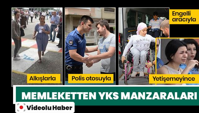 Türk polisi okulunu şaşıran öğrenci için harekete geçti! İşte o görüntüler...