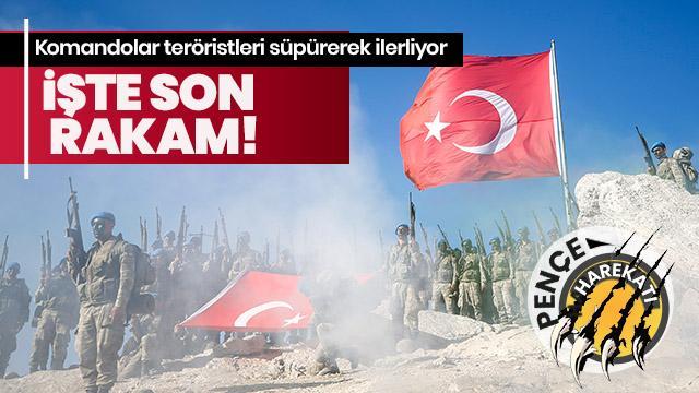 Son dakika... PKK'ya darbe üstüne darbe! İşte Pençe'de son durum