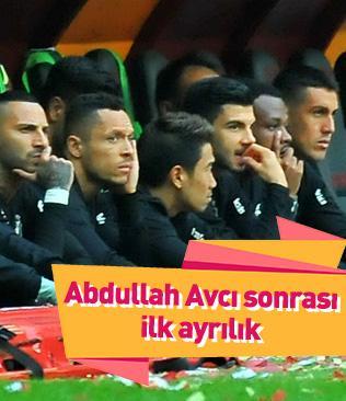 Beşiktaş'ta ilk ayrılık Adriano
