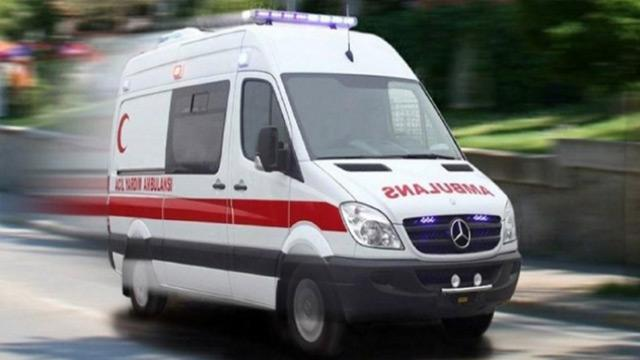Sınav yerine ambulansla getirildi
