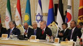 Tacikistan'da Başkan Erdoğan'dan liderlerle kritik görüşmeler