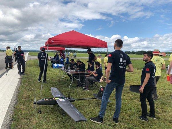 ABD'deki İHA yarışmasında Türk öğrencilerin başarısı