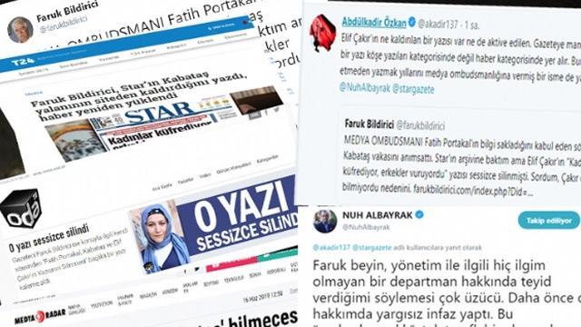 Star Gazetesi, yalan söyleyen Faruk Bildirici ve karanlık medyanın iftirasını çürüttü