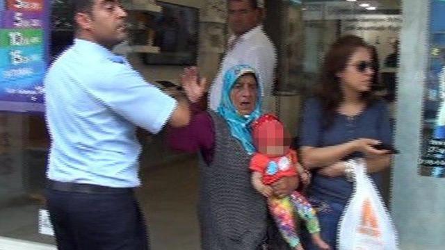 Polis hayretler içinde kaldı: Çocuğu yere çarparım