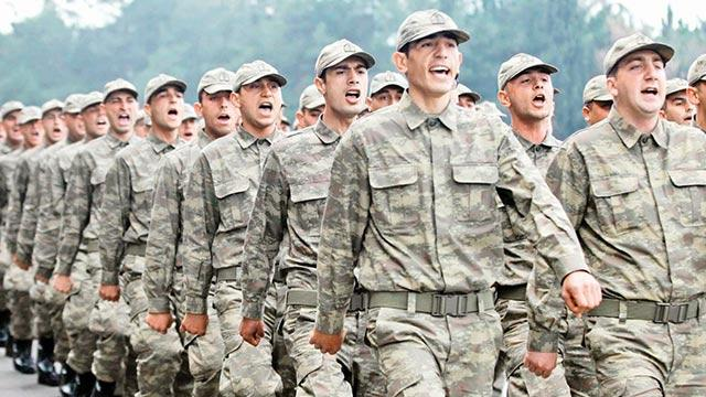 Yeni askerlik sistemi Perşembe'ye tamam