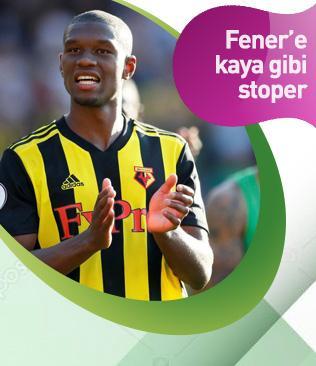Güçlü fiziği ve atletik yapısıyla dikkat çeken Christian Kabasele Fenerbahçe'ye önerildi