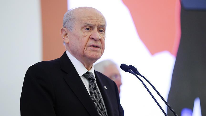 Devlet Bahçeli İstanbul'da konuştu: Ülkemiz ABD'nin ne sömürgesi ne de eyaletidir