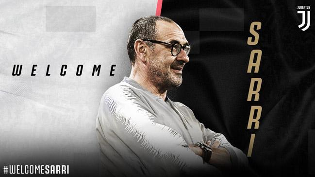 Juventus, Maurizio Sarri'yi açıkladı