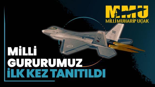 Milli Muharip Uçağımız ilk kez Paris Airshow'da tanıtıldı