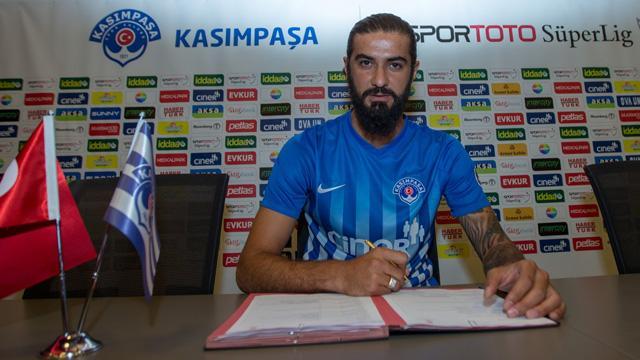 Kasımpaşa, Fatih Öztürk ile 2 yıllık sözleşme imzaladı