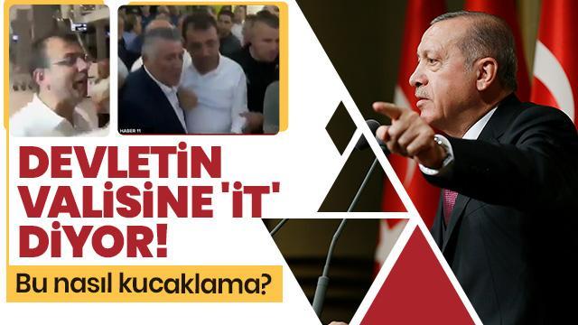 Başkan Erdoğan'dan İmamoğlu'na sert tepki!