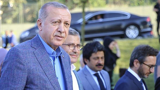 Başkan Erdoğan, Nakkaştepe Millet Bahçesi'ni ziyaret etti
