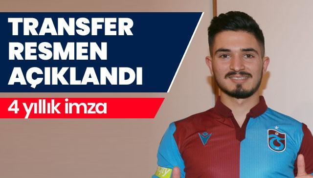 Trabzonspor, Fıratcan Üzüm'ü transfer etti
